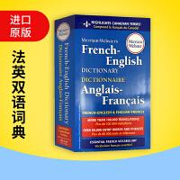 正版现货韦氏法语英语词典 英文原版 Merriam Webster's French English Dictiona