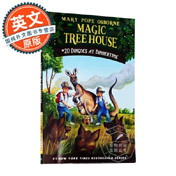 神奇树屋 英文原版童书 Magic Tree House 20: Dingoes At Dinnertime 玛丽波奥斯本 青少年课外英语读物 桥梁章节书 原版进口 放心订购