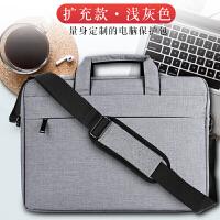 苹果联想戴尔笔记本macbook电脑包pro13.3寸air13女手提小米华硕mac12英寸三星惠