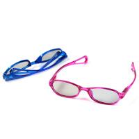 儿童3d眼镜电影院专用圆偏光偏振reald不闪式三d电视眼镜IMAX巨幕