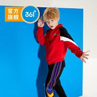 【新春到手价:149.5】361度童装 男童套头卫衣2020春季新中大童长袖圆领套头衫运动上衣 N52013606