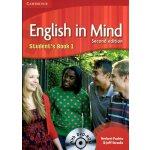 剑桥中学英语教材 English in Mind Student's Book 1 With DVD-ROM 学生用书