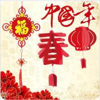 新年中国结福字立体挂饰客厅结婚礼挂件创意节庆家居用品装饰
