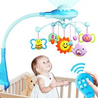 新生婴儿宝宝玩具益智手摇铃床铃