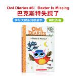 进口原版OWL DIARIES BAXTER IS MISSING 猫头鹰日记 #6 巴克斯特失踪了