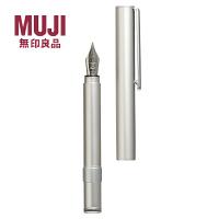 无印良品 铝制 短款便携式铅笔 迷你小钢笔 万年笔/钢笔 钢笔
