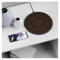无线魔法阵充电器三星S9手机小米mix2siPhone8plus通用无线充电器 高配版 10w快充