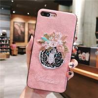 火烈鸟立体刺绣iphone78七plus苹果x手机壳保护套女款全包防摔