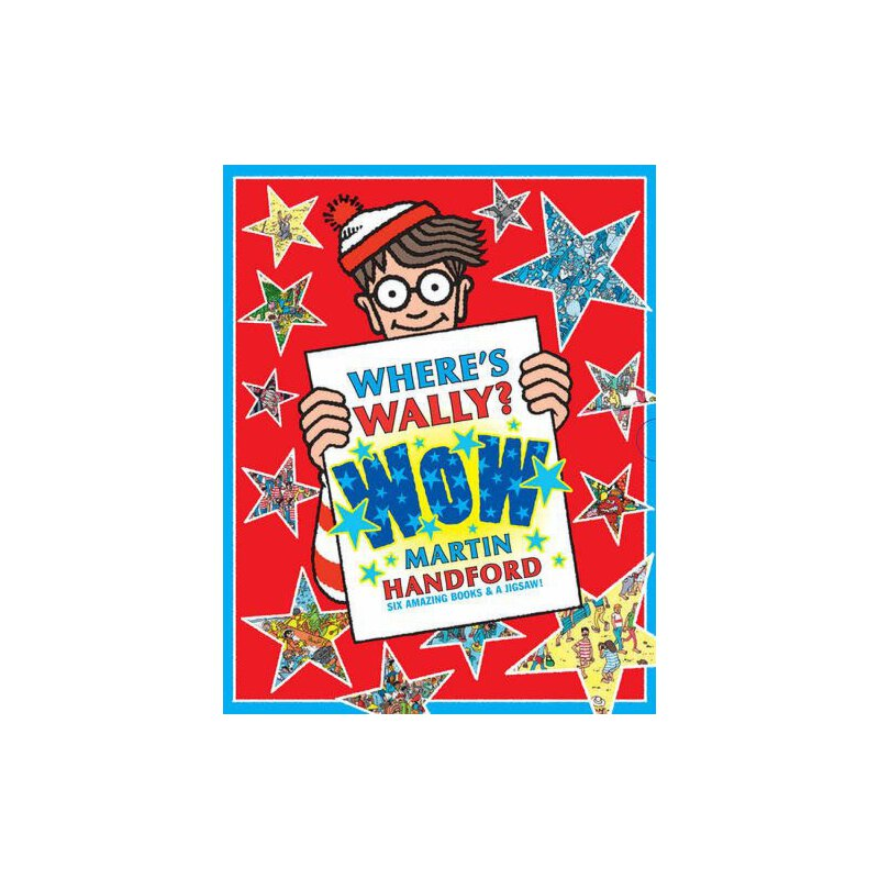 Where's Wally? WoW: 6 Books Collection