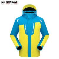 【品牌特惠】NORTHLAND/诺诗兰 正品男士户外弹力滑雪服防水透气外套GK035713
