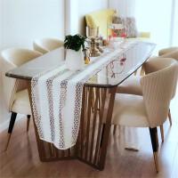 北欧轻奢餐椅洽谈桌椅组合用简约靠背椅子化妆椅凳子售楼处