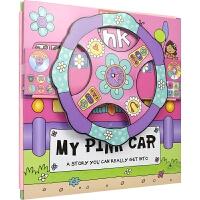 Convertible Pink Car 变形大冒险车书 粉色小汽车 可组装立体变形折叠玩具书 大开本地板书 儿童英语