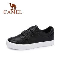 camel骆驼女鞋 秋季新品时尚简约魔术贴单鞋 百搭舒适小白鞋
