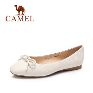 Camel/骆驼女鞋 2017春季新款 韩版时尚舒适休闲单鞋女鞋