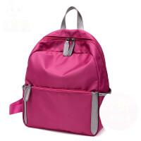 女士双肩背包 男女通用双肩包休闲潮旅行包 时尚背包小学生书包