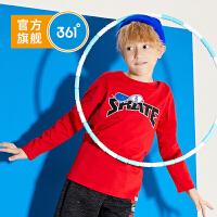 361度童装 男童长袖T恤2020春季新款男童套头上衣 N52013201