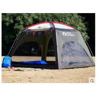 户外装备 公园露营3-4人家庭野外单层休闲帐篷四季