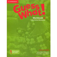 Guess What! American English Level 3 Workbook with Online R