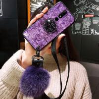 超火ins紫色诺基亚X6手机壳Nokia X7保护硅胶套X5防摔TA一1109软壳1099挂绳6x潮