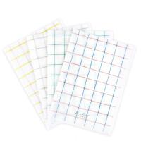国誉格子印象A4索引文件套 办公资料分类 隔页文件保护套 学生试卷整理夹 蓝红/绿蓝/粉黄/灰色可选