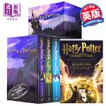 哈利波特英文原版 英文版Harry Potter 哈利波特全套1-7 盒装 J.K. Rowlingj JK罗琳 进口正版