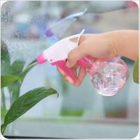 居家植物园艺塑料喷雾养花洒水喷壶透明彩色浇花喷瓶稀释壶