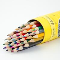 真彩CK-036 无毒水彩彩色铅笔 36色桶装儿童涂鸦绘画铅笔文具包邮