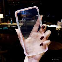 透明防摔苹果xs手机壳软硅胶7plus潮牌iphone8简约6s新款情侣男女 6/6S 4.7寸 黑