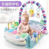 儿童脚踏琴玩具音乐钢琴健身架毯 婴儿0-3-6-8个月宝宝益智游戏毯