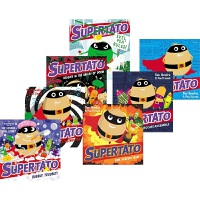 【预售】Supertato 土豆超人7册套装 Sue Hendra 故事绘本 亲子读物 幽默搞笑 英语启蒙 3-6岁 英