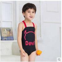 2-8岁 韩国 宝宝连体儿童度假游泳衣男童泳装