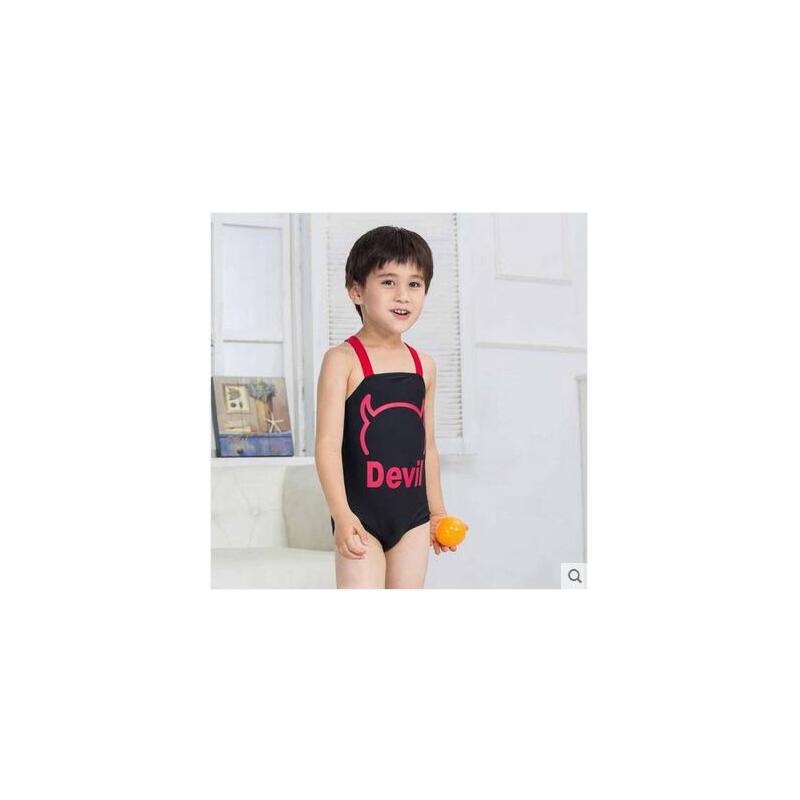 2-8岁 韩国 宝宝连体儿童度假游泳衣男童泳装 品质保证 售后无忧 支持货到付款