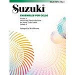【预订】Ensembles for Cello, Vol 3 9780874872996