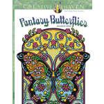 Creative Haven Fantasy Butterflies Coloring Book (【按需印刷】)