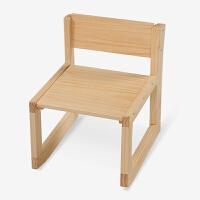 【当当自营】好事达 博学凳子 儿童靠背椅 学校餐椅 原木色乐橙3644
