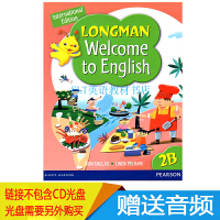 原版香港朗文小学英语教材Longman Welcome to English 2B 学生书
