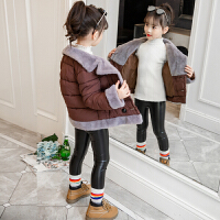 2018新款冬装短款棉衣小女孩韩版洋气上衣外套潮厚棉袄女童
