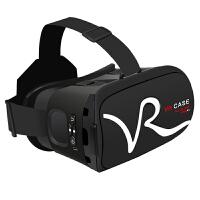 VR CASE VR虚拟现实3D眼镜触控式手机影院智能头戴式游戏头盔成人 白色