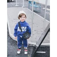 男童套装宝宝秋装童装小童冬装男宝宝卫衣