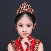 儿童头饰女童皇冠走秀演出王冠儿童配饰发饰