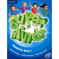 英音版剑桥小学英语教材 Super Minds Level 1 Student's Book with DVD-ROM Level 1级别 学生用书