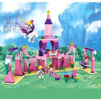 兼容乐高积木 女孩别墅公主城堡益智拼装模型组装儿童玩具3-6周岁