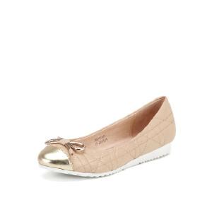 【3折到手价149.7元】菲伯丽尔Fondberyl春季羊皮低跟休闲浅口单鞋女FB61111551