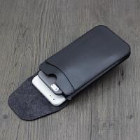 �p手�C包iPhone6s plus�p�C保�o套mate8皮套P9 R9 7plus直插套 �Q 大� 黑色 �Q款�p�C