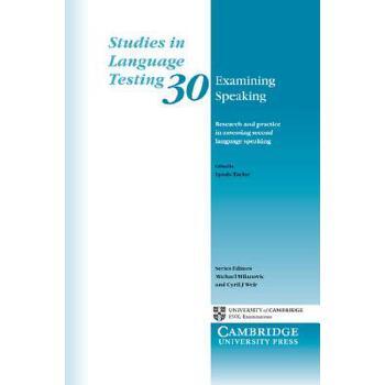 【预订】Examining Speaking: Research and Practice in Assessing Second Language Speaking 预订商品,需要1-3个月发货,非质量问题不接受退换货。