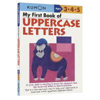 Kumon My First Book of Uppercase Letters Ages 3 4 5 公文式教育 幼
