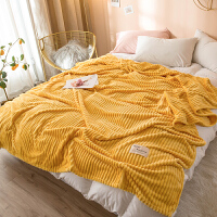 20191107015334879毛毯夏季空调小毯子单人牛奶绒冬季午睡盖毯薄款珊瑚绒毛巾被子 200X230CM毛毯