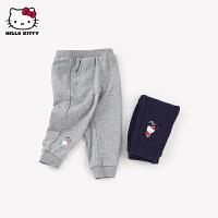 hellokitty女童长裤2021春季新款运动裤婴儿宝宝儿童装洋气裤子潮