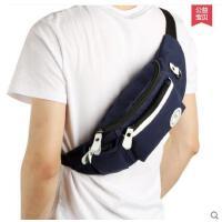 简约多口袋精致耐用便携运动斜挎包男士胸包背包帆布包男包腰包