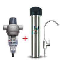 3M净水器 前置过滤器BFS1-100+fairey净水器FIS101 家用直饮净水机